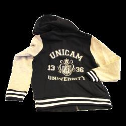 Blue hoodie logo Unicam