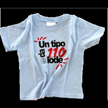 T-shirt bambino celeste