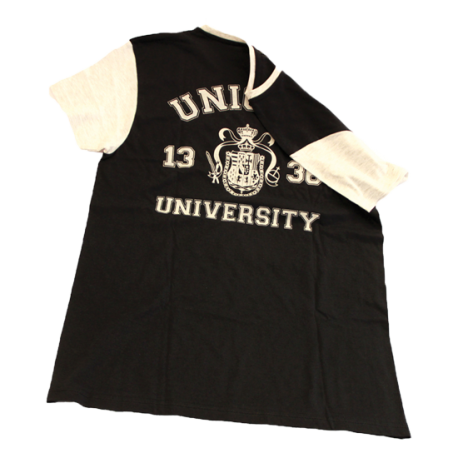 T-shirt logo schiena