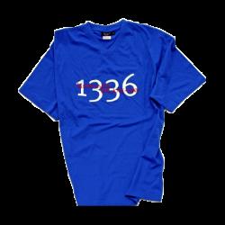 T-shirt man blue