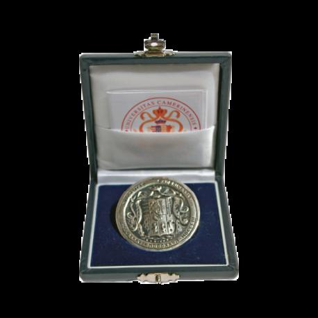 Sigillo medaglia argento